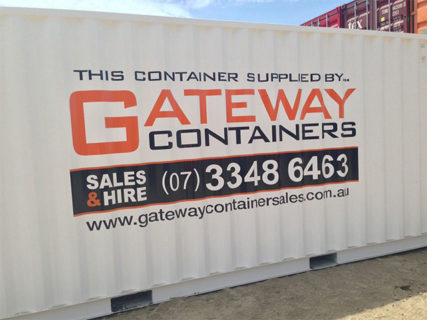 20ft Branded Shipping Container