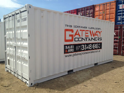 20ft Branded Shipping Container Brisbane