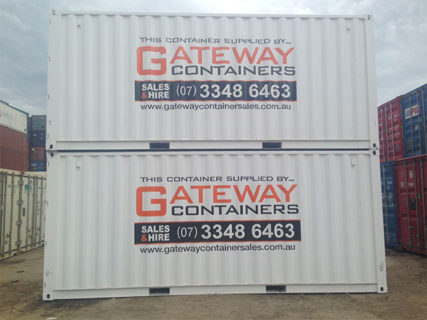 20ft Branded Shipping Container x 2 Brisbane