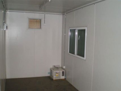 20ft Container sliding window Brisbane