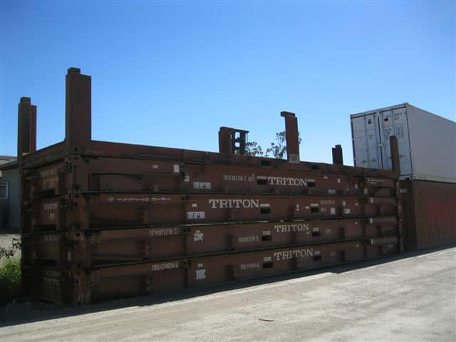 40ft Flat Rack Shipping Container Gateway Container Sales Hire