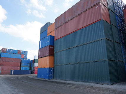 40ft high cube a grade painted container Brisbane