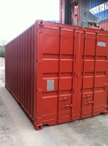 red 20ft sea container for sale Brisbane