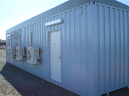 Air conditioned container & electrical switch room