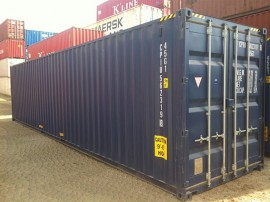 Blue-new-40ft-high-cube-container-Brisbane