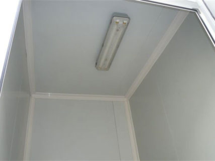 Container interior lighting