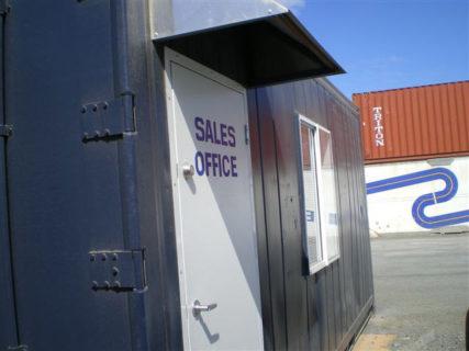 Container office access doors Brisbane