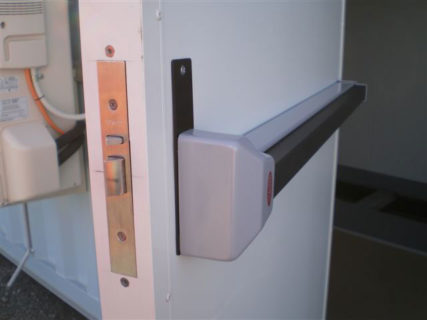 Electrical switch room security door