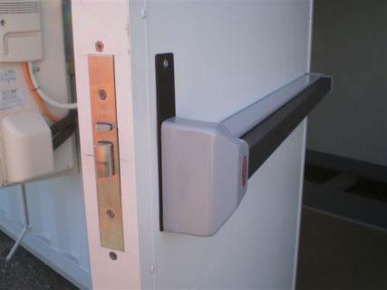 Electrical switch room security door