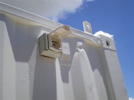 External Container Waterproof Electrical Outlet