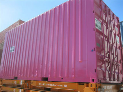 Pink 20ft High Cube