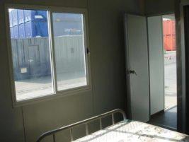 Portable accommodation inside room Brisbane