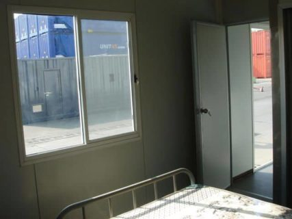 Portable accommodation inside room Brisbane