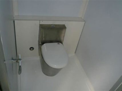 Portable accommodation toilet