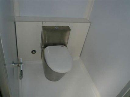 Portable accommodation toilet