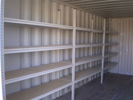 Secure document storage 4 tier document shelving