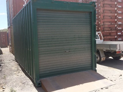 Shipping Container Portable Carport 2