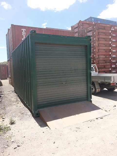 container shelters make cost effective durable portable. Black Bedroom Furniture Sets. Home Design Ideas