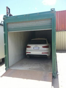 Shipping Container Portable Carport