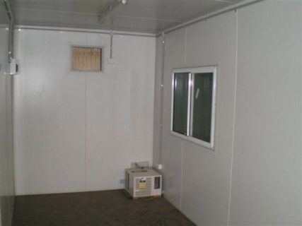 20ft insulated container sliding window Brisbane