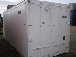 20ft insulated containers reefer doors for sale