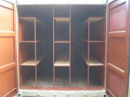 Container 3 Tier Shelving