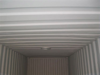 Container Ceiling with Whirlybird Collar