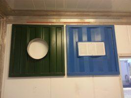Container floor ventilation