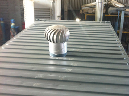 Shipping Container Ventilation