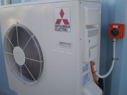 Container condenser non-recessed eletrical switch
