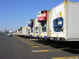 Refrigerated (reefer) containers