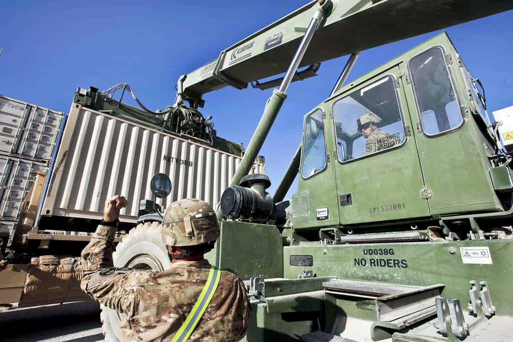 Modified Shipping Containers Military Amp Defence Applications