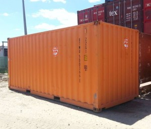 20ft orange container general purpose Brisbane