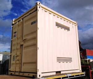 Council 10ft DG Container