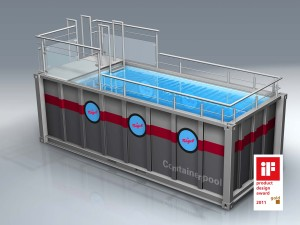 how to build a shipping container swimming pool. Black Bedroom Furniture Sets. Home Design Ideas