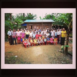 One of the many Villages supported by MyKids.  Via: MyKids Facebook