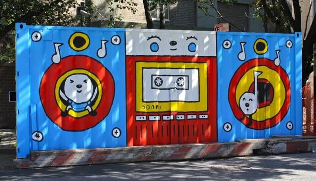 5 Eye Catching Shipping Container Street Art Projects