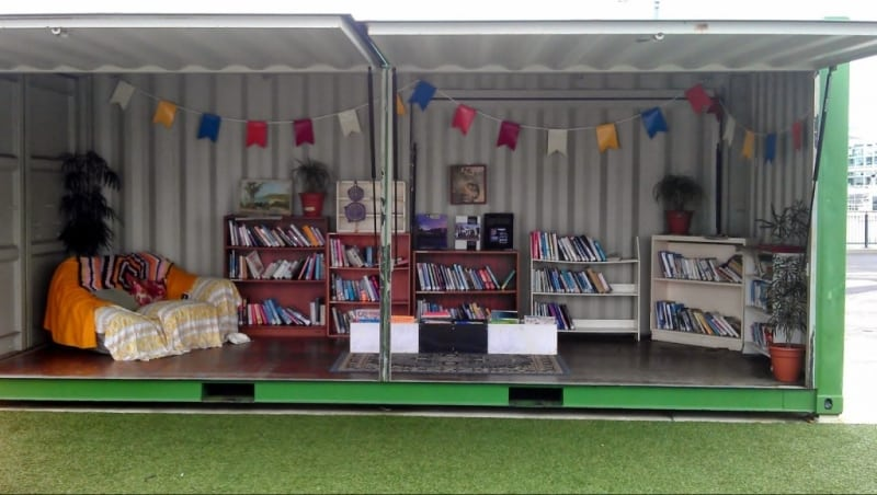 Shipping Container Libraries Making Books Accessible