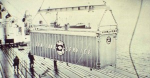 Image of a container during World War II