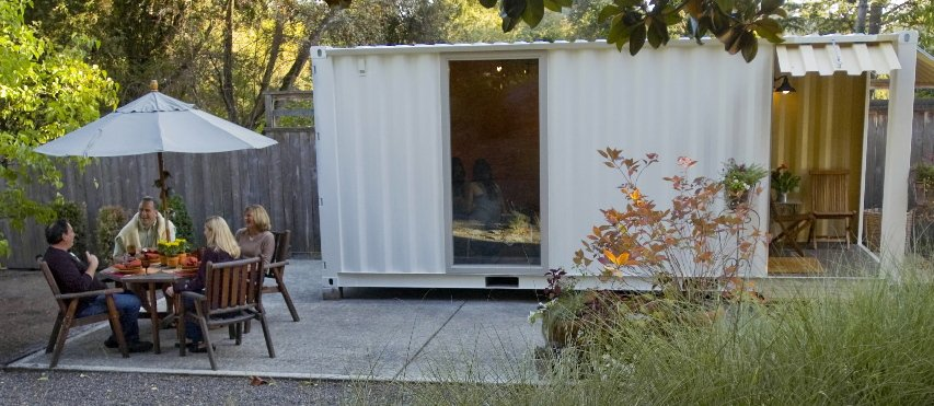 Shipping Containers The Perfect Garden Shed