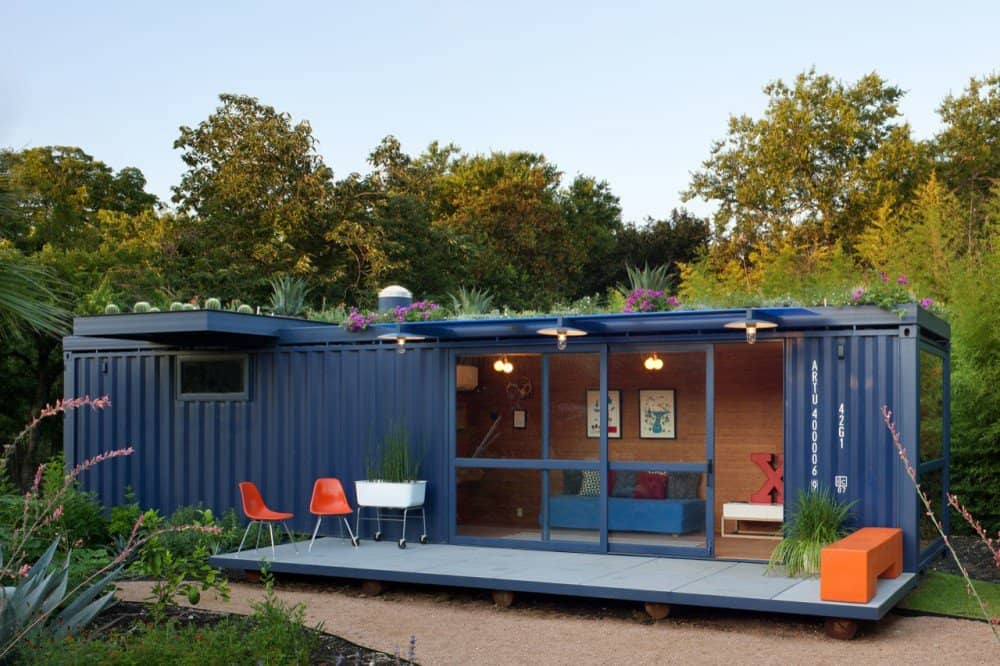 Get Off-Grid With a Shipping Container Home