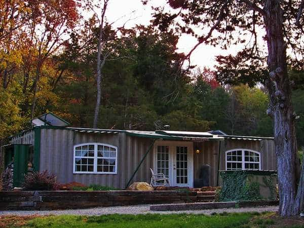 Off-grid shipping container home - Tiny House Talk