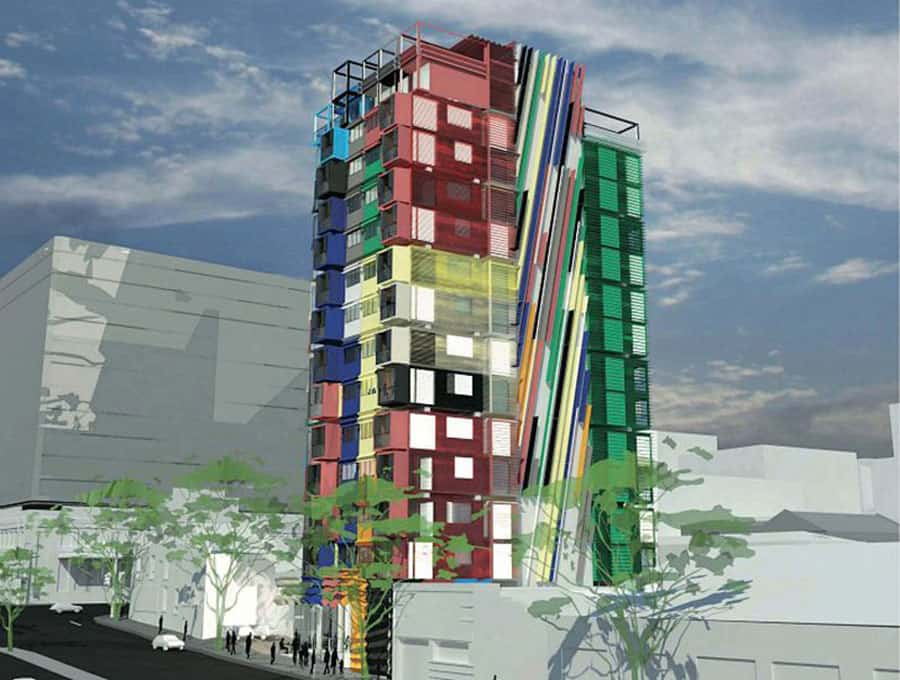 container-tower
