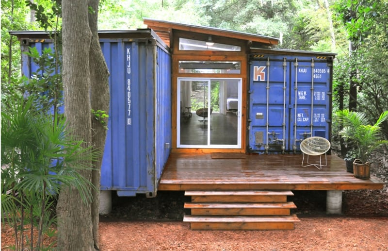 9 ways to downsize your life live in a shipping container home
