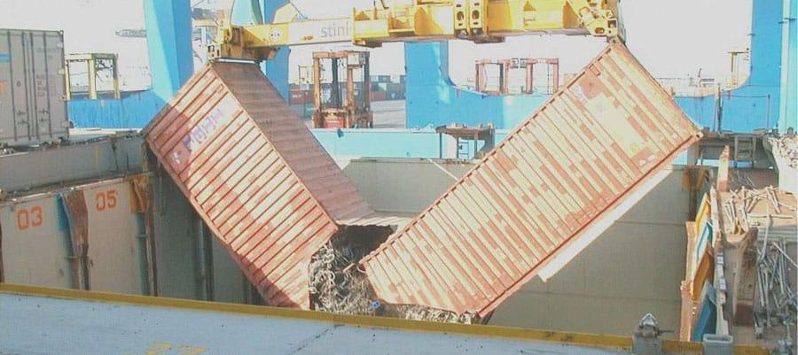 Broken-Container