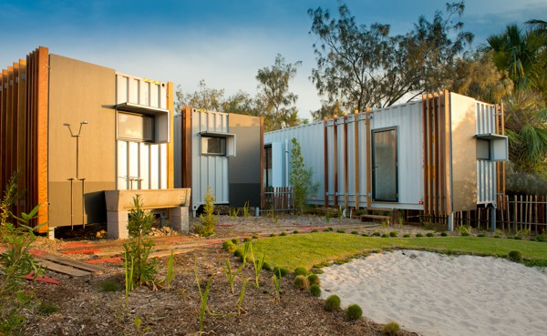Aussie shipping container home wins design awards for Beach box house plans