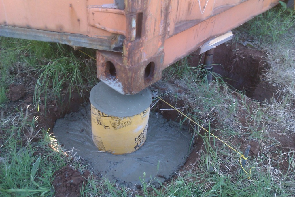 shipping-container-concrete-footing