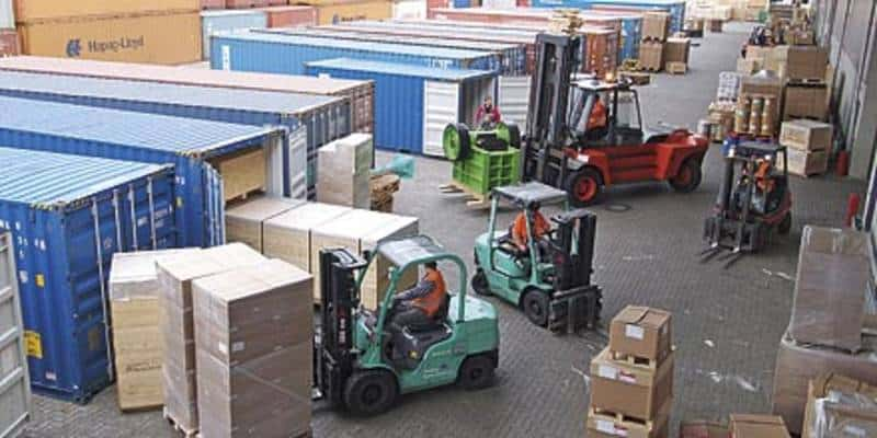 loading containers