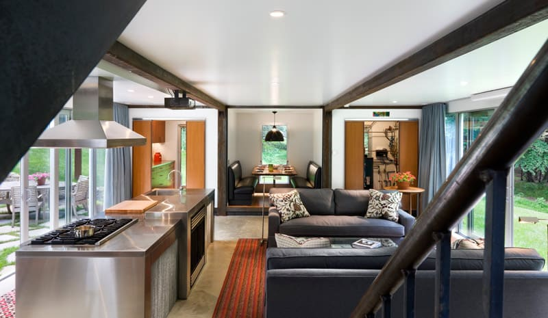 Luxury shipping container home