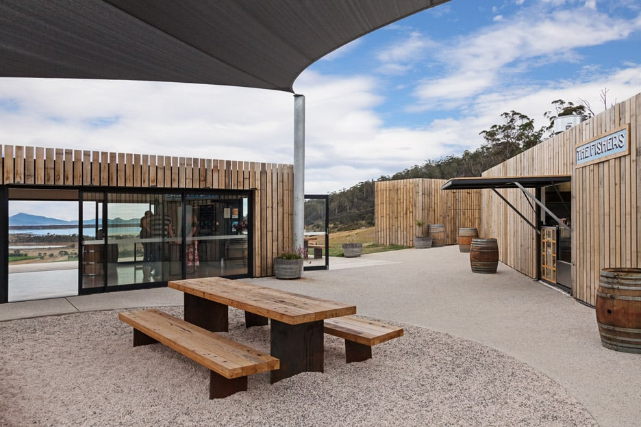 shipping container winery